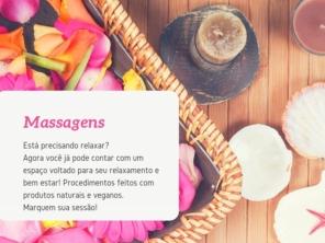 Atendimento com Massagens e Limpeza de Pele