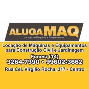 Alugamaq Locação de Máquinas e Equipamentos em Lençóis Paulista, SP por Solutudo