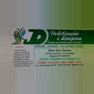JD Dedetização e Limpeza