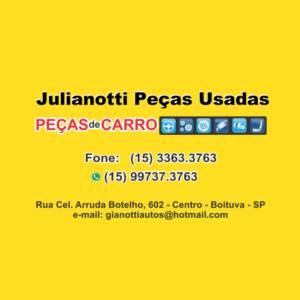 Julianotti - Desmanche de Veículos e Peças de Carros Usadas