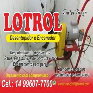 Lotrol Desentupidora e Encanador em Geral