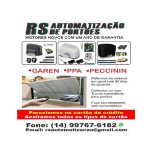 RS Automatização de Portões em Botucatu, SP por Solutudo