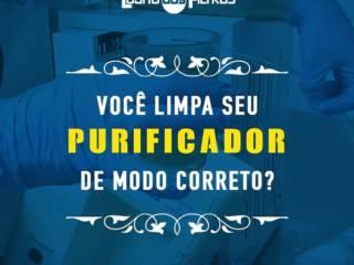 LIMPEZA DO PURIFICADOR