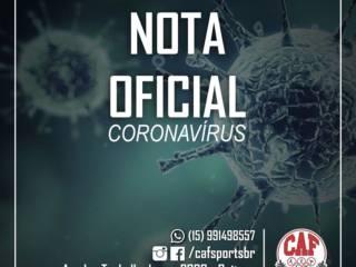 COVID-19: NOTA DE ESCLARECIMENTO CAF