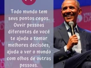 Dicas de Obama para se tornar um bom líder