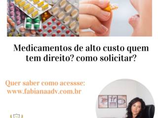 Medicamento de alto custo como solicitar ao SUS?