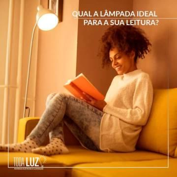 Qual a lâmpada ideal para a sua leitura?