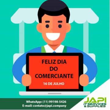 FELIZ DIA DO COMERCIANTE - 16 DE JULHO