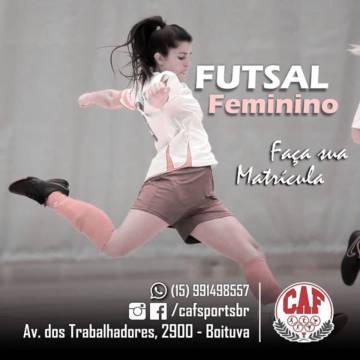Futsal Feminino!