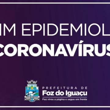Boletim 07/07/2020: Foz registra 92 novos casos de Coronavírus em 24 horas