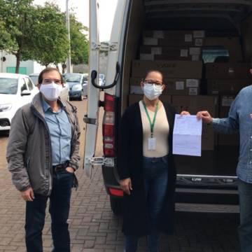 Foz do Iguaçu recebe 12 novos respiradores do Ministério da Saúde