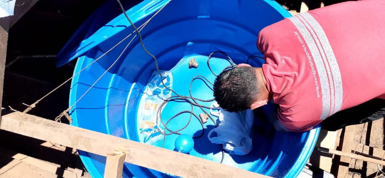 Limpeza de Caixa D'agua por Lotrol Desentupidora e Encanador em Geral