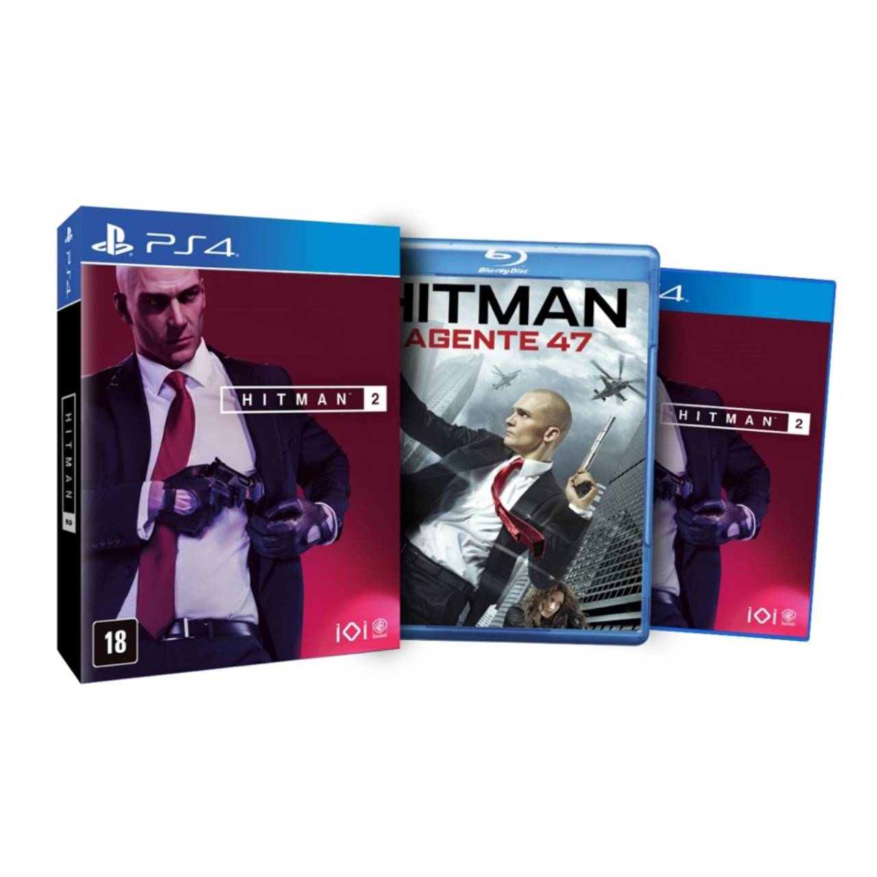 Hitman 2: Edição Day One - PS4 por IT Computadores, Games Celulares