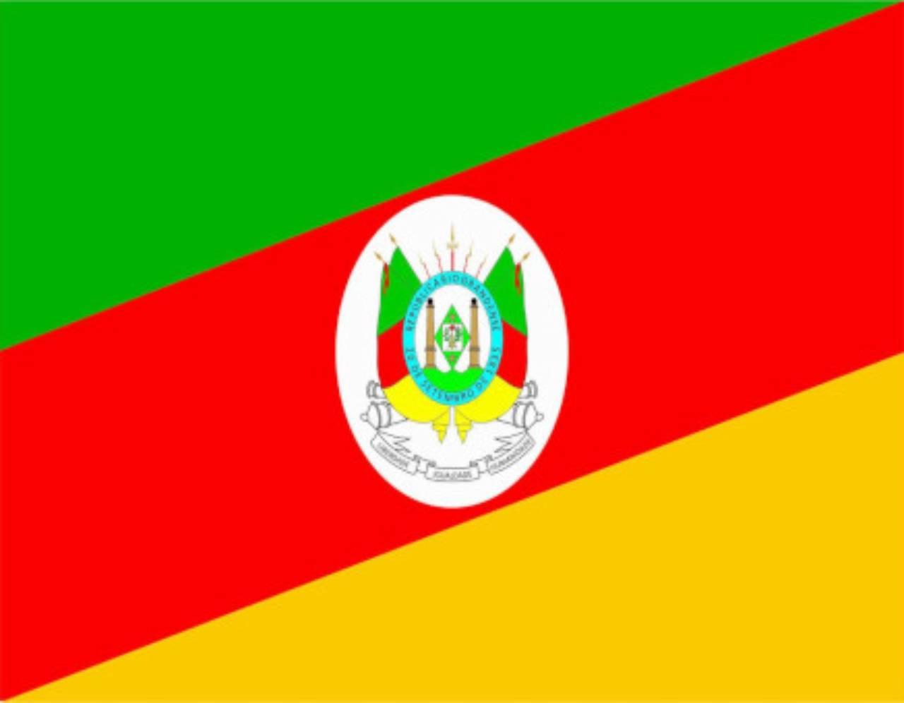 Bandeira do Rio Grande do Sul por Jairo Jaime Bandeiras e Flâmulas