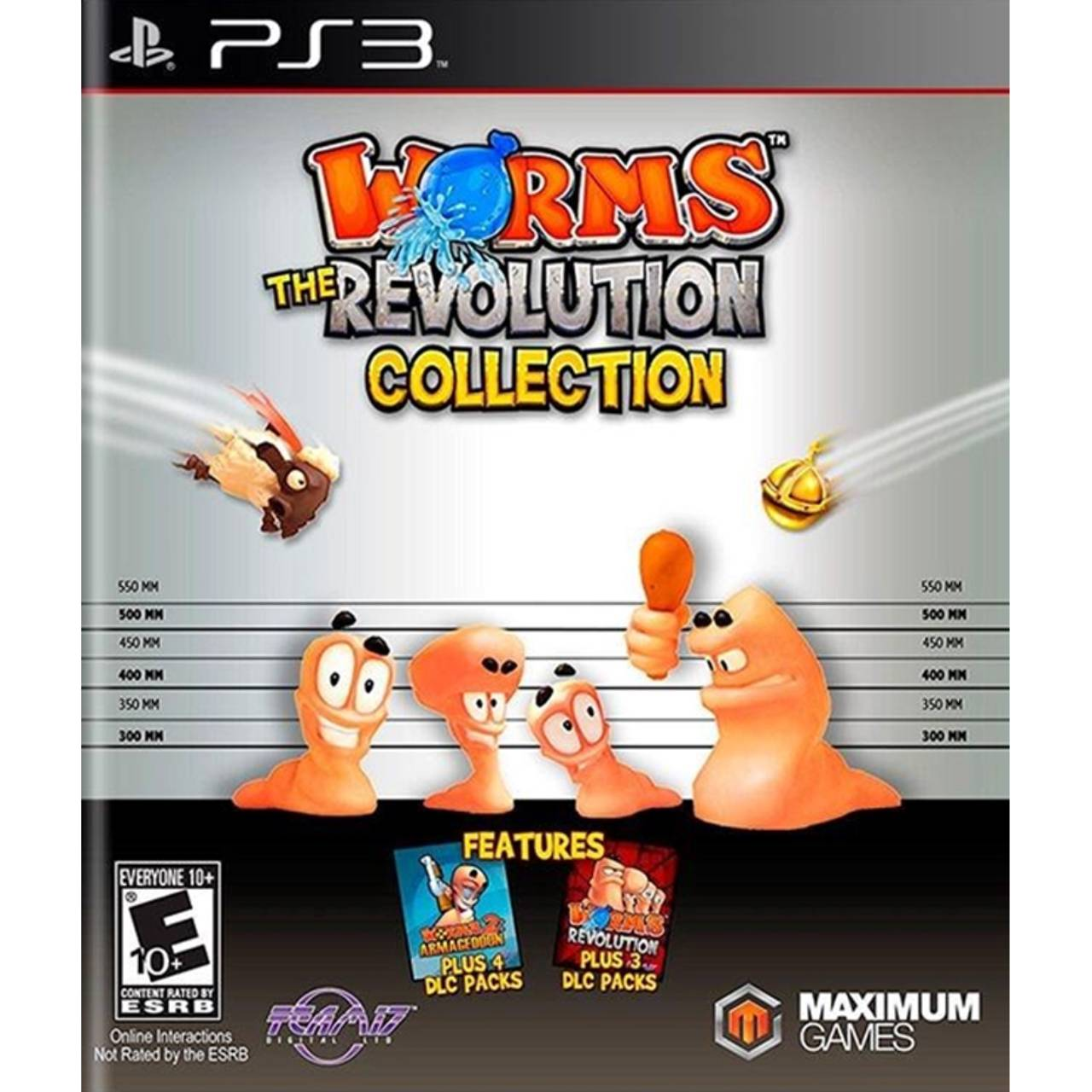 Worms: The Revolution Collection - PS3 por IT Computadores, Games Celulares