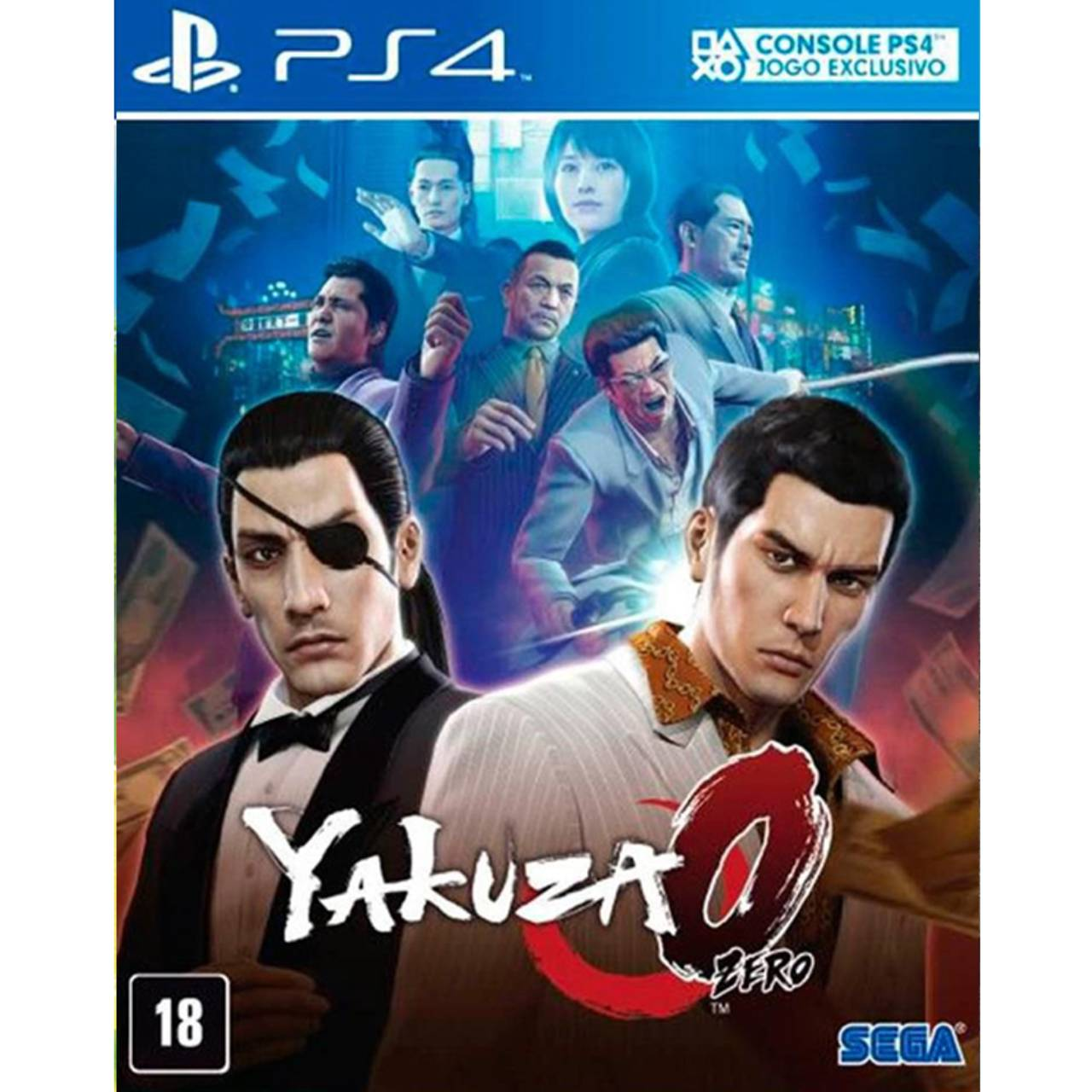 Yakuza Zero - PS4 por IT Computadores e Games