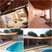 Madeiramento e telhado