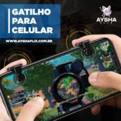 JOYSTICK CONTROLADOR P/ SMARTPHONE L1-R1 em Araçatuba, SP por Ayshaflix - Loja Online