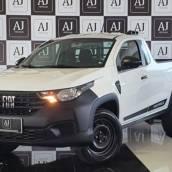 FIAT STRADA - 1.4 ENDURANCE CABNE SIMPLES FLEX 2P MANUAL 2021 em Botucatu, SP por AJ Veículos
