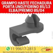 Grampo Haste Fechadura Porta Uno/Fiorino 85/13 Elba/Premio 85/04 em Itupeva, SP por Spx Acessórios e Autopeças
