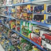 Caminhãozinho de brinquedo