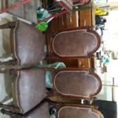 Cadeiras tacheadas