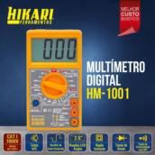 Multímetro digital Hikari