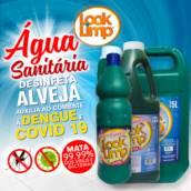 Água Sanitária Looklimp, Alveja e Desinfeta