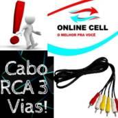 Cabo RCA 3 Vias!
