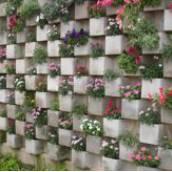 Jardim Vertical de Concreto