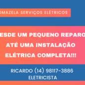 Serviços Elétricos em Botucatu.