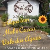 Mel e Cacau na Feira de orgânicos de São Vicente