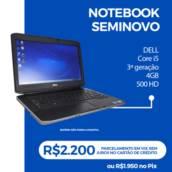 Notebook seminovos