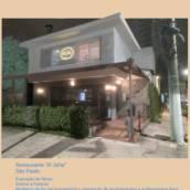 """Restaurante """"All Jafar"""" em São Paulo manutenção interna e externa de 2015 a 2020"""