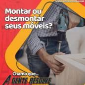 Montagem ou desmontagem de móveis