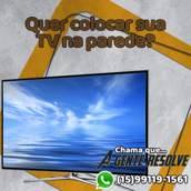 Fixação de painel e/ou suporte de TV