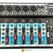 Mesa De Som Bluetooth Usb Mixer Mp3 Display Digital 6 Canais – LE-709
