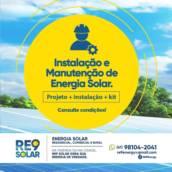 Instalação e Manutenção de Painéis Fotovoltaicos