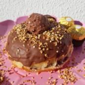 Donuts de Ferrero Rocher em Bauru