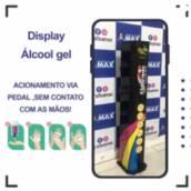 Display álcool em gel
