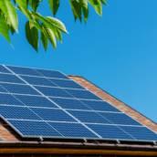 Instalação de energia solar para residência
