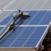 Limpeza de Placa Solar