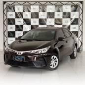 TOYOTA COROLLA – 1.8 GLI 16V FLEX 4P AUTOMÁTICO 2017/2018 em Botucatu, SP por Seven Motors Concessionária