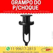 Grampo do P/choque Corolla 00/17 Etios 12/17 Prius Rav4 00/10 Hilux em Itupeva, SP por Spx Acessórios e Autopeças
