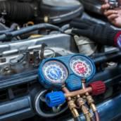 Carga de Gás R134 para Ar Condicionado Automotivo