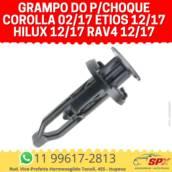 Grampo do P/choque Corolla 02/17 Etios 12/17 Hilux 12/17 Rav4 12/17 em Itupeva, SP por Spx Acessórios e Autopeças