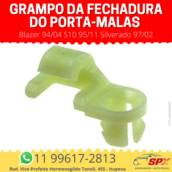 Grampo da Fechadura do Porta-malas Blazer 94/04 S10 95/11 Silverado 97/02 em Itupeva, SP por Spx Acessórios e Autopeças