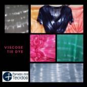 Viscose Tie Dye  em Americana, SP por Paraíso dos Tecidos