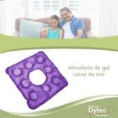 Almofada Caixa De Ovo Gel Quadrada Com Orifício - Bioflorence em Jundiaí, SP por Cirúrgica DyTec - Comércio e Manutenção em Equipamentos Médicos Hospitalares