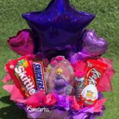 chocolate e baloes